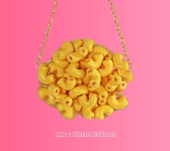 Mac n Cheese Necklace